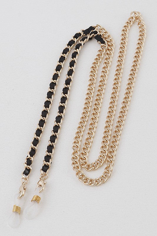 Mix it Up Mask Chain (GOLD BLACK)