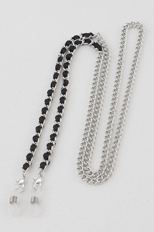 Mix it Up Mask Chain (SILVER BLACK)