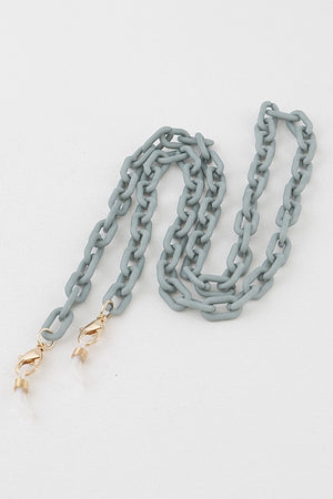 Matte Linked Mask Chain (Olive)