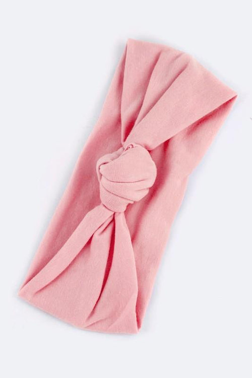 Twist Knot Headband (Pink)