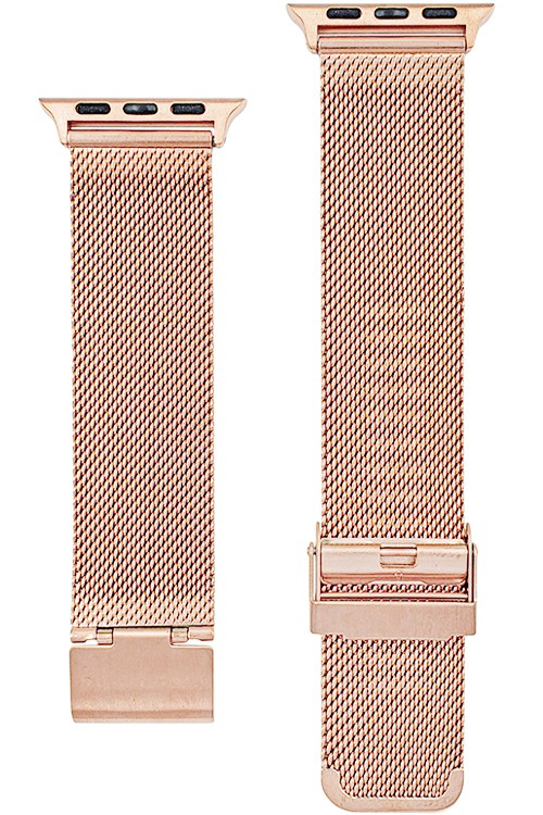 Mesh Chain Apple Watch Band (ROSE GOLD)