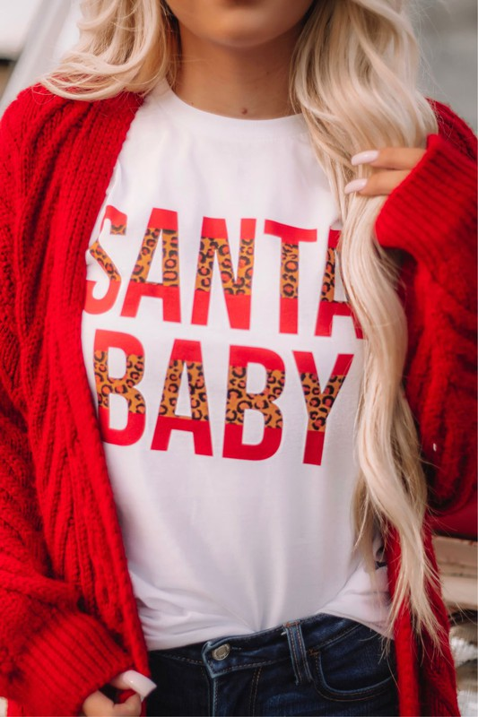 Santa Baby Short Sleeve Shirt