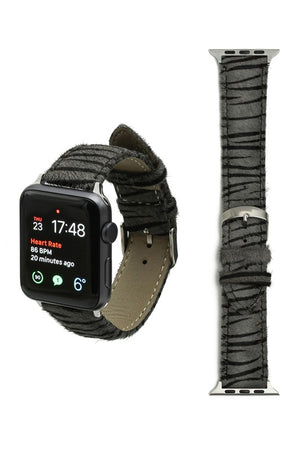 Zebra Apple Watch Band (Gray)
