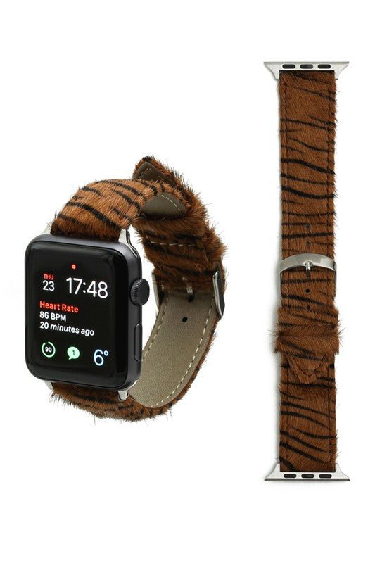 Zebra Apple Watch Band (BROWN)