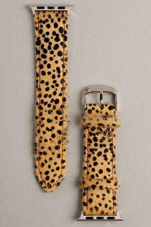 Cheetah Apple Watch Band (Natural)