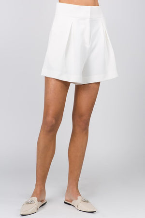 Monte Carlo Set- Shorts Only (WHITE)