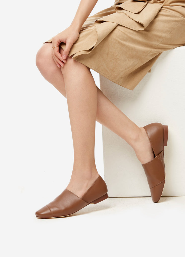 VERA AVERY SHOES in Choco Brown