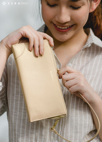 VERAPARISbag BEST MILLIE WALLET in Champagne Gold