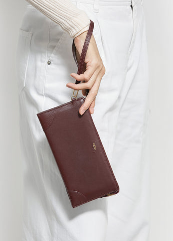 VERA Best Millie Wallet in Burgundy