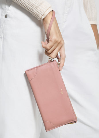 VERA BEST MILLIE WALLET in Pink Frappé