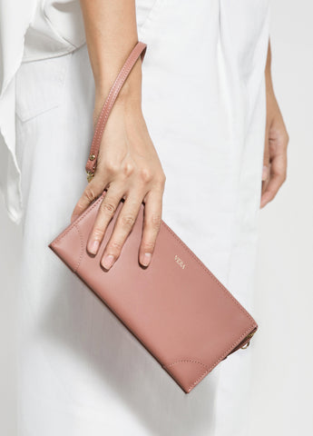 VERA BEST MILLIE WALLET in Rose Tea