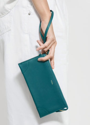 VERA Best Millie Wallet in Teal Green