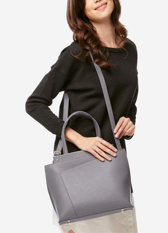 VERA BRIDGET Bag in Paris Gray