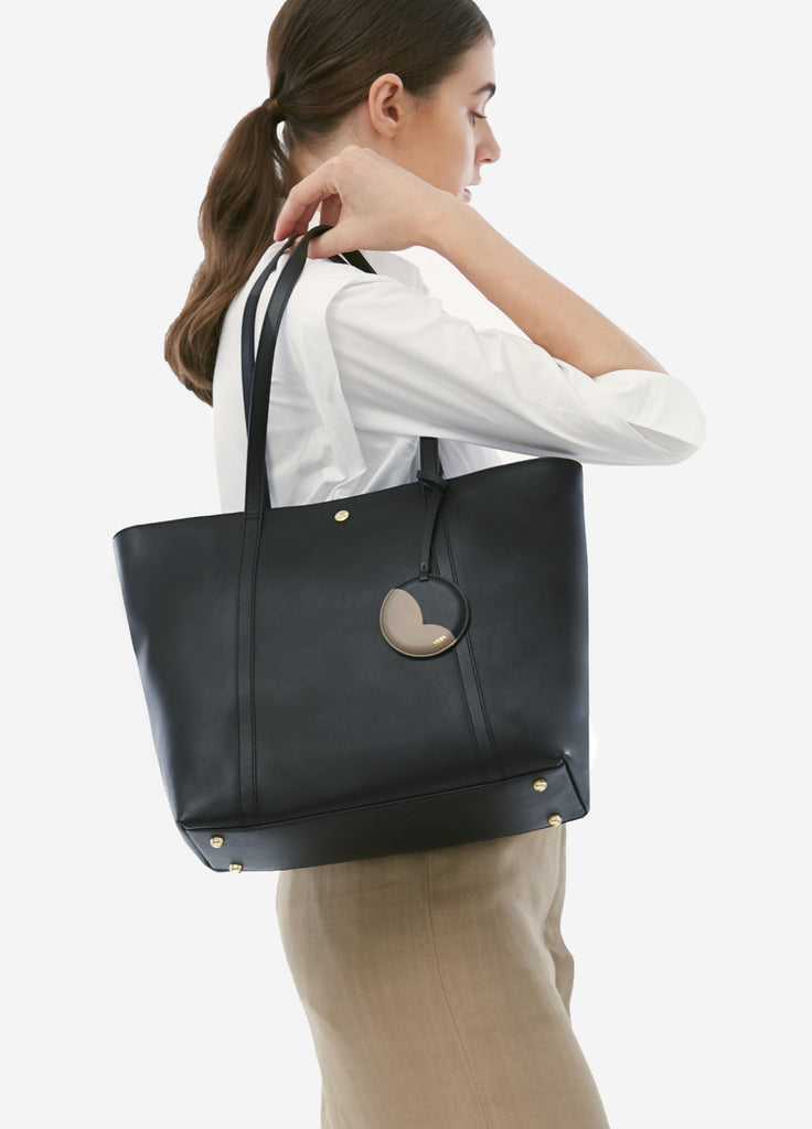 VERA JOE'S TOTE in Moonlight Black
