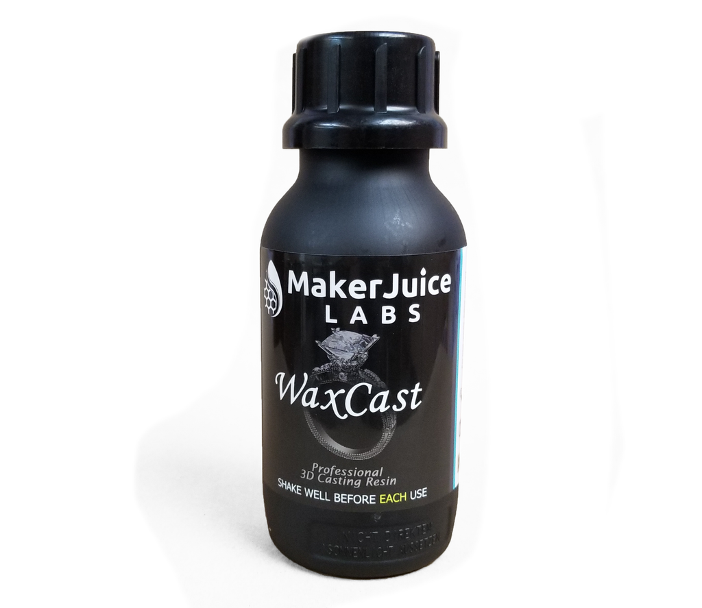 MakerJuice WaxCast - Direct Investment Casting Resin for 3D Printing