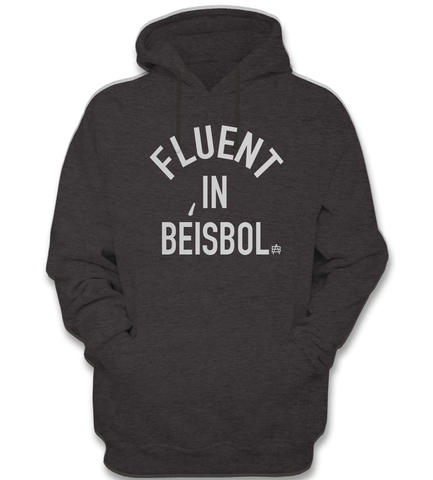 Fluent in Beisbol Hooded Sweatshirt - Adrenaline Baseball apparel