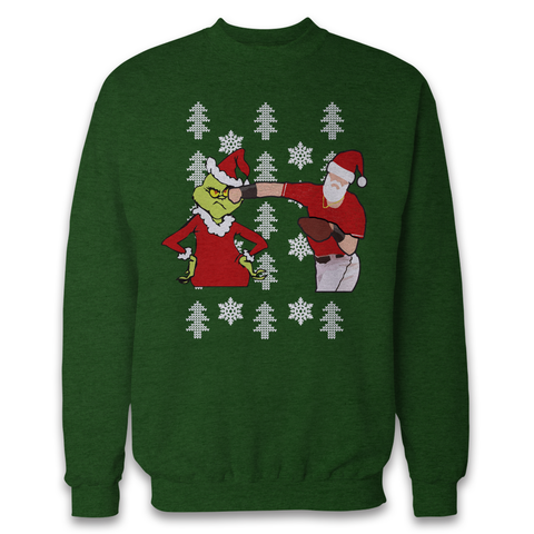 """The Punch"" Christmas Sweater - Adrenaline Baseball apparel"