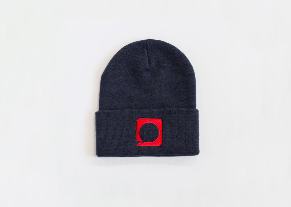 Squared Circle Navy 'Icon' Toque