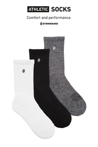 StringKing Athletic Crew Socks - LacrosseExperts