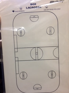 Lowry Lacrosse Coaching Board