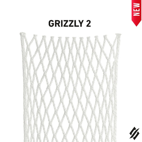 StringKing Grizzly 2 12D Goalie Mesh - LacrosseExperts