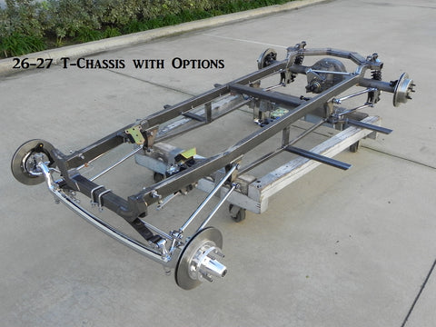 1926-27 T' Chassis & Parts – California Custom Roadsters