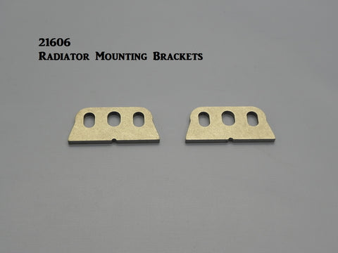 21606 T-Radiator Mounting Brackets, Weld-on
