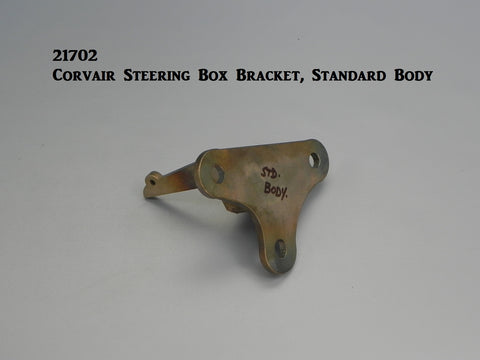 21702 Corvair Steering Box Bracket, Standard Body