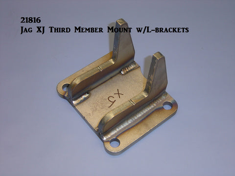 21816 Jag XJ Third Member Mount w/ L-Brackets Welded
