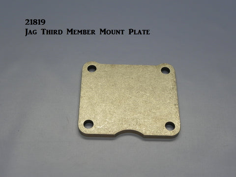 21819 Jaguar Center Mount Plate