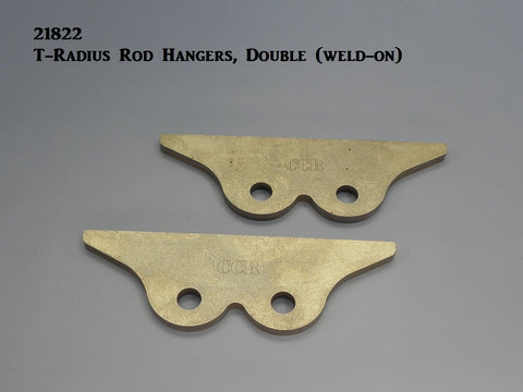 21822 T-Radius Rod Hanger, Double (to frame)