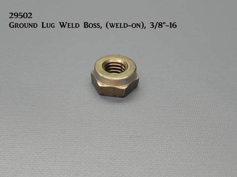 "29502 Ground Lug Weld Boss, 3/8""-16, (weld-on)"