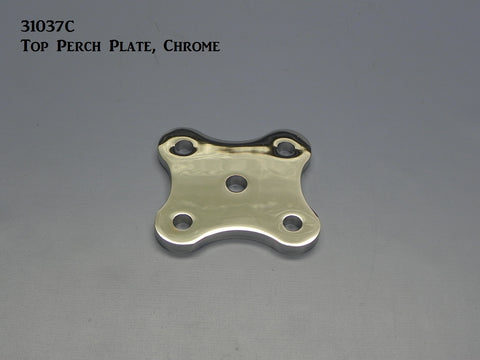 31037C T-Top Perch Plate, Chrome