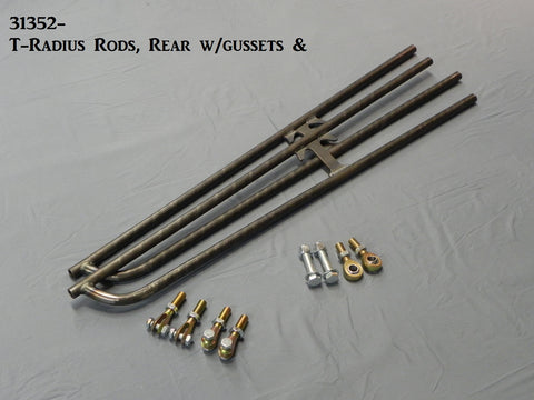 "31353-47  T-Radius Rods, Rear, 47.25"" bars (6"" Extended Frame)"