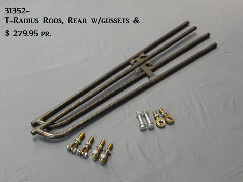 "31352-37  T-Radius Rods, Rear, 37.25"" bars"