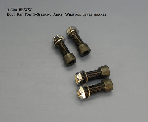 31500-BKWW Bolt Kit for Steering Arms, Wilwood style Brakes