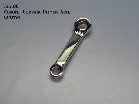 31510-AMC Chrome, Custom Corvair Pitman Arm, (New)