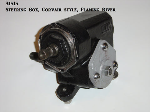 31515 Steering Box, Reversed Corvair Style, Flaming River