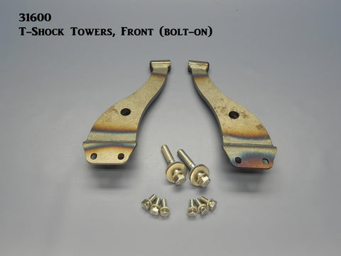 31600 T-Front Shock Towers, bolt-on