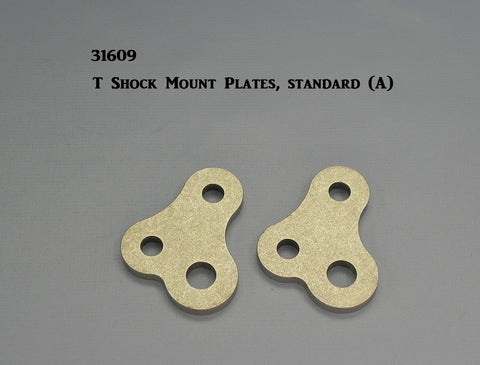 31609 T-Shock Mount Plates, Offset style