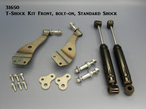 31650 T-Shock Kit, Front, bolt-on, Standard Shock