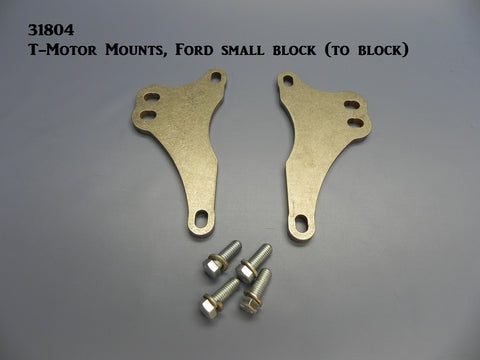 31804 T-Motor Mounts, Ford Small blocks (to motor)