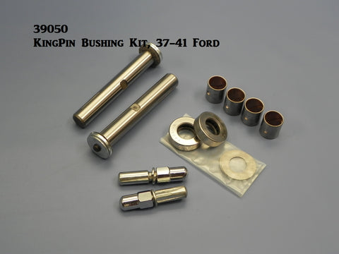 39050 Kingpins & bushings Kit, 37-41 Early Ford (round spindle)