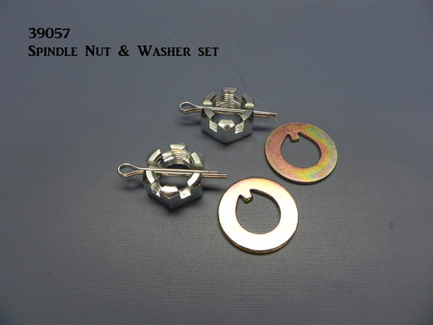 39057 Spindle Nut & Washer Set
