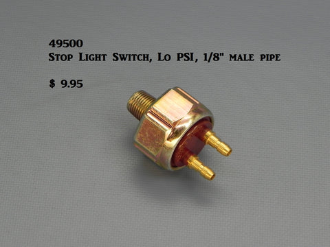 49500 Stop Light Switch (low PSI, hydraulic)