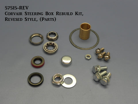 57515-REV Corvair Steering Box Rebuild Kit, Reversed, (Parts)