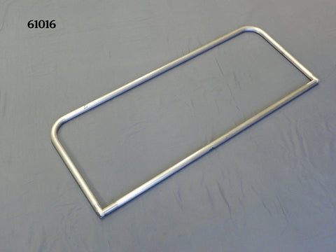 "61014P T-Windshield Frame, Polished, Full Frame, 14"" height, 40 1/8"" wide"