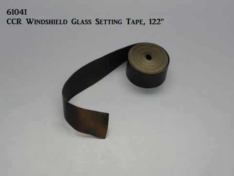 61041 CCR Windshield Glass Setting Tape