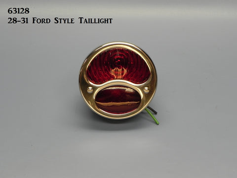 63128 Round, '28-'31 Ford Style Taillight