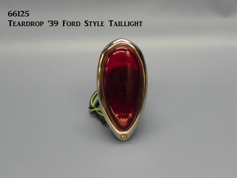66125 Teardrop '39 Ford Style Taillight